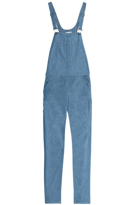"Rag & Bone Chambray Overalls, $347; <a href=""http://www.stylebop.com/product_details.php?id=618577&ranMID=40490&tmad=c&tmcampid=245&tmclickref=TnL5HPStwNw&campaign=affiliate/linkshare/au/&utm_source=affiliate&utm_medium=linkshare&utm_campaign=adsau&ia-pmtrack=50440005&siteID=TnL5HPStwNw-vVx7wztB7mEejt0UkUx5Cg"">stylebop.com</a>"
