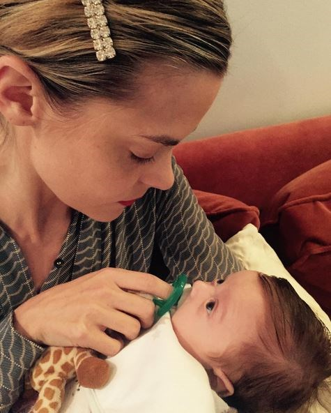 Jaime King and Kyle Newman welcomed their second child together in July, son Leo Thames.