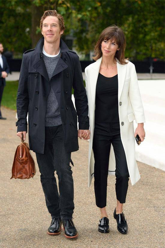 Benedict Cumberbatch and wife Sophie Hunter welcomed their first son (cumberbaby) in June.