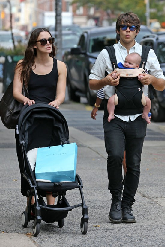 Keira Knightley and James Righton welcomed their first child together, daughter Edie, in May.