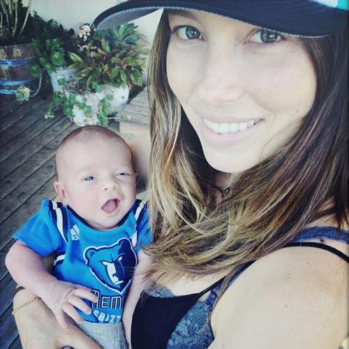 Jessica Biel and Justin Timberlake welcomed their son (timberbaby) Silas Randall Timberlake in April. He was named after Justin's grandfather Bill Silas Bomas and father Randall.
