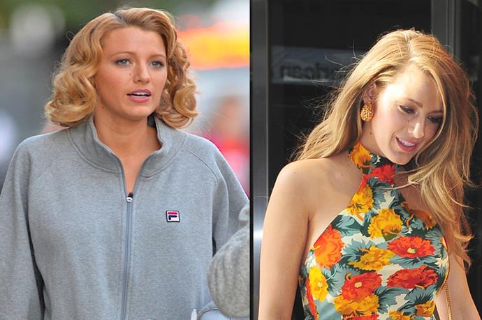 """<p> <strong>Blake Lively</strong></p> <p>ALERT: Blake Lively has a bob now? Or is it a wig/expert pin-job? Nobody can quite tell from this snap from the set of Woody Allen's latest film. <br><br>Safe to say, we're sure we'll know the full details of Livelys glorious mane from her Instagram soon. From """"bronde"""" to a bob, what a year in Lively's tresses, right? #LongHairGoals #ShortHairGoals </p>"""