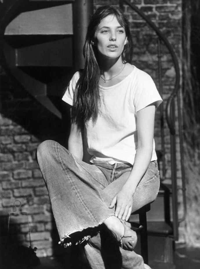 """<strong>Jane Birkin</strong> <br> <br> """"She launched a thousand trends - who doesn't want to look like Jane Birkin?"""" <br> <br> Anne Marie Curtis - Fashion Director"""