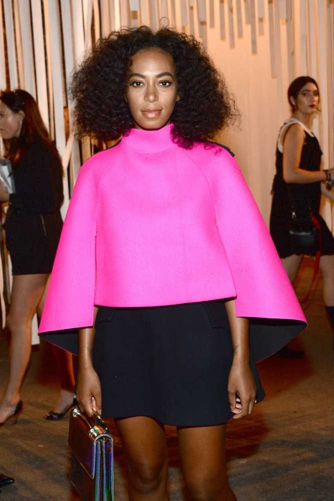 "<strong>Solange Knowles</strong> <br> <br> ""A street style favourite, Solange looks great all the time."" <br> <br> Jazz Harris - Fashion Cupboard Manager"