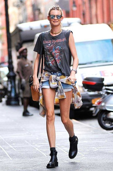 Band T-Shirts: The Ultimate Hack For Cool Girl Dressing