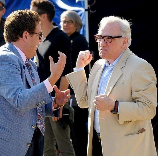 "<strong>The Wolf of Wall Street (2013)</strong> <br> <br> Jonah Hill and Martin Scorsese share a laugh on set. <br> <br> Image: <a href=""https://twitter.com/MakingOfs/status/640706559312560128/photo/1"">Twitter</a>"