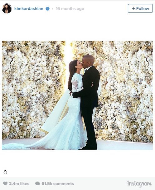 4. May 27, 2014: Two of the biggest people in Hollywood got married.