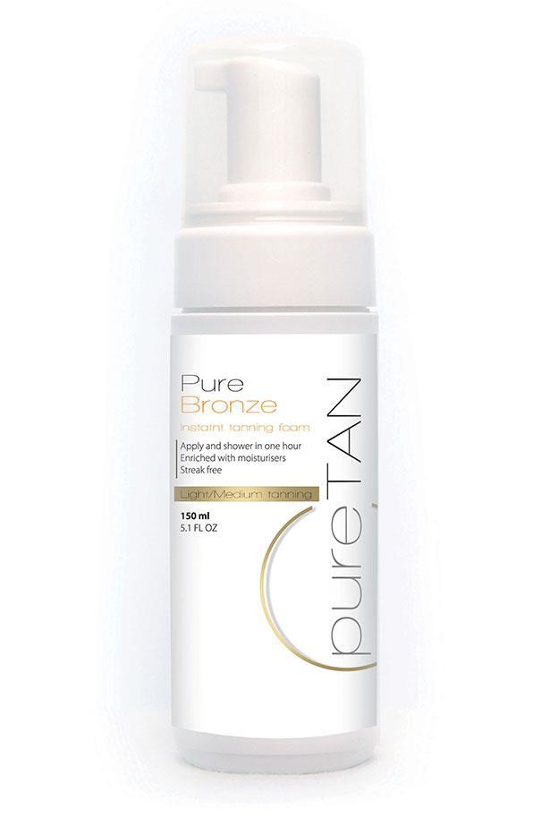"""<strong>Best for fair skin: </strong> <a href=""""https://puretan.com.au/shop/retail-tanning/light-medium-tanning/light-medium-instant-tanning-foam/"""">Pure Tan Light/Medium Instant Tanning Foam</a>"""