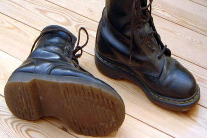 You wore Doc Martens with EVERYTHING, and they were totally an investment/save all of your earnings from your Woollies Saturday shift purchase.
