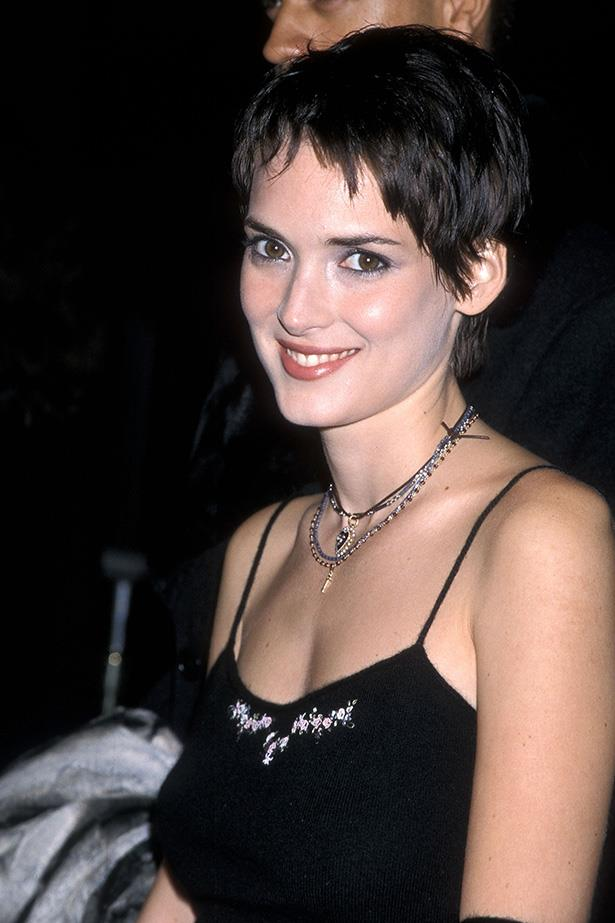 Spaghetti strap tops/everything that Winona wore ever.