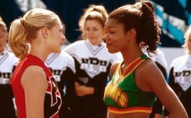 Kirsten Dunst Demonstrates Bring It On Cheer