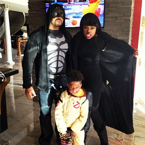 <strong>JENNIFER HUDSON'S SON, DANIEL</strong> <br> As a ghostbuster.