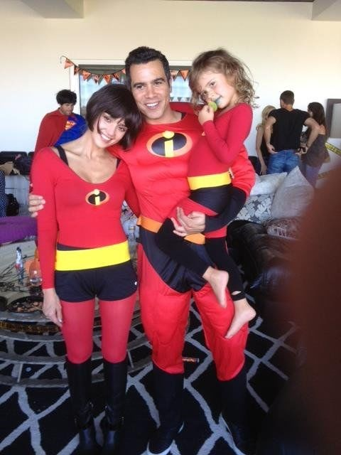 <strong>JESSICA ALBA'S DAUGHTER, HONOR</strong> <br> As the Incredibles.