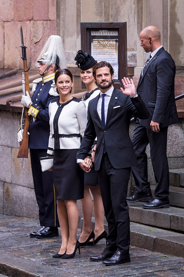"""Watch out George and Charlotte, there's a new royal baby on the way with Princess Sofia and Prince Carl Philip of Sweden announcing that they are expecting their first child together. <br><br> The very good looking pair announced the news just like any other young couple, on Facebook.  """"We are so happy and excited to announce that we are expecting our first child,"""" the pair wrote in their statement. """"We are very much looking forward to it."""" <br><br> The newest addition to the Swedish royal family will arrive in April."""