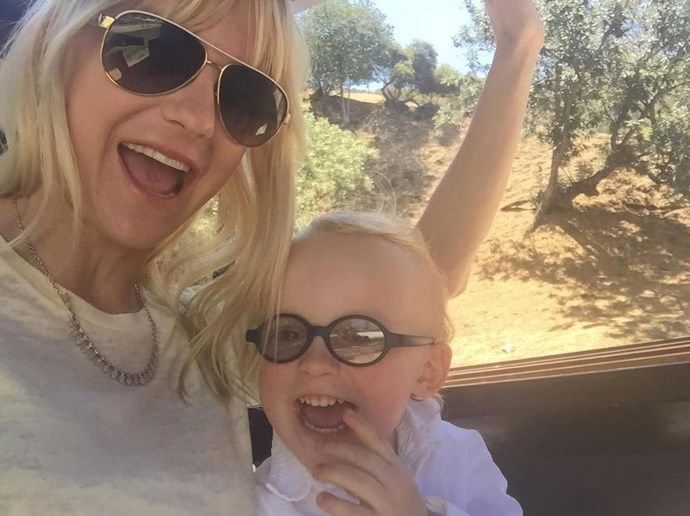 """Anna tweeted: """"Train museum! For the 120th time!!!"""" <br> <br> Image: <a href=""""https://twitter.com/AnnaKFaris/status/625037219904909312/photo/1"""">Twitter</a>"""