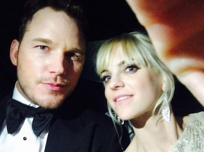 """Anna tweeted: """"Going home after golden globes. My feet are really swollen"""" <br> <br> We know that feeling Anna <br> <br> Image: <a href=""""https://twitter.com/AnnaKFaris/status/554521378943033344/photo/1"""">Twitter</a>"""