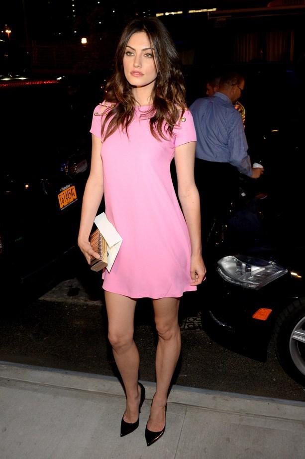 Tonkin look pretty in pink.