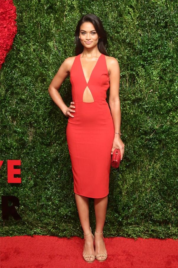 Australian model Shanina Shaik