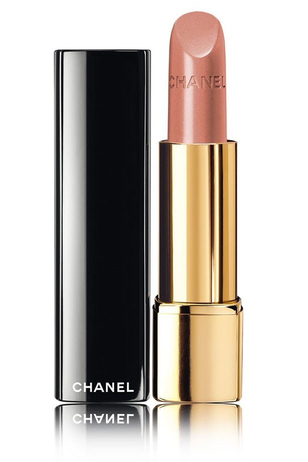 """<strong>Fair Skin Tones</strong> <BR> <BR> If you're pale with warm undertones you can step things up with a rosy beige such as<em> <a href=""""http://shop.davidjones.com.au/djs/en/davidjones/rouge-allure-luminous-intense-lip-colour"""">Chanel Rouge Allure Lipstick in Pensive </a></em>"""