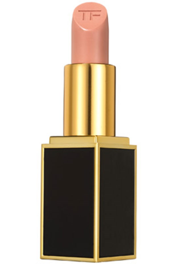 """<strong>Olive Skin Tones</strong> <BR> <BR> Those with olive skin can pull off both lighter or darker nudes and rarely put a foot (or lip) wrong. Still, going lighter will have more impact and <a href=""""http://shop.davidjones.com.au/djs/en/davidjones/lip-color""""><em>Tom Ford Lip Color in Vanille</em></a> is insanely beautiful."""