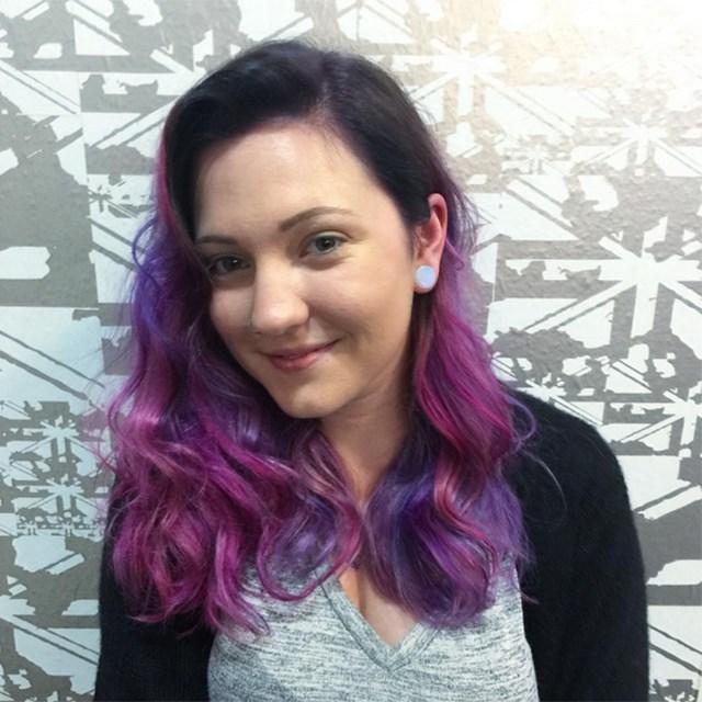 Or go purple!