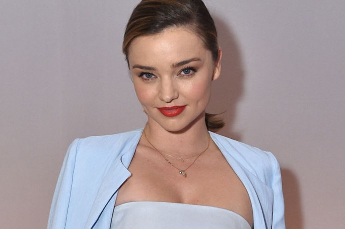 Miranda Kerr's Abs Require Their Own Seatbelt