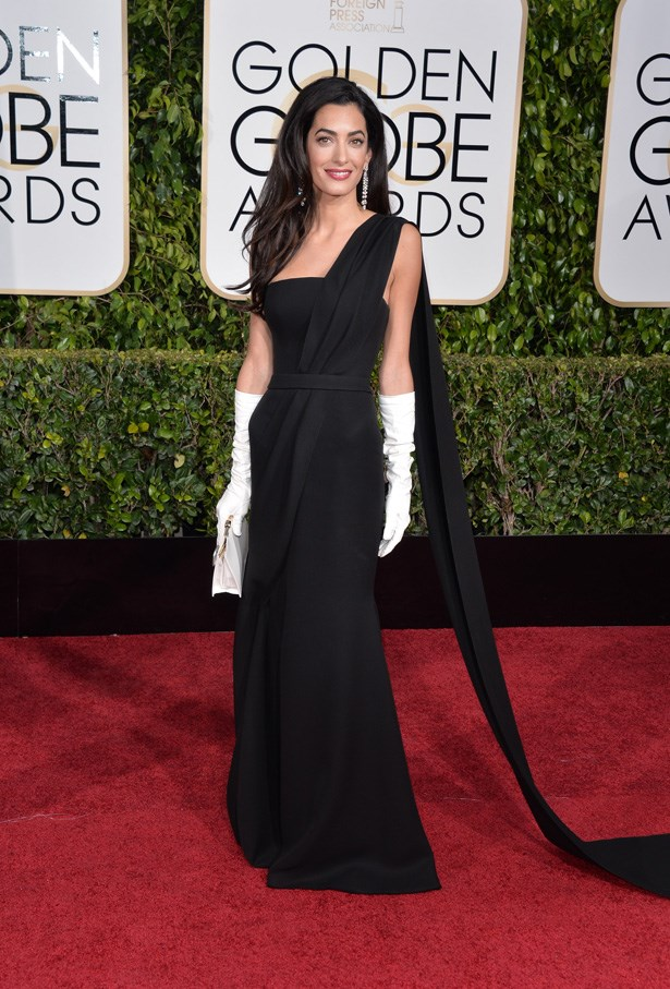 Amal Alamuddin in Dior. What a dream.