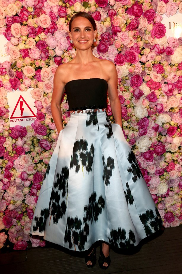 Natalie Portman and Dior are the perfect fashion match.
