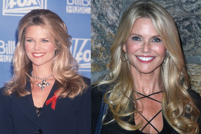 Christie Brinkley in 1992 and Christie Brinkley in 2015. Can anybody REALLY tell the difference?