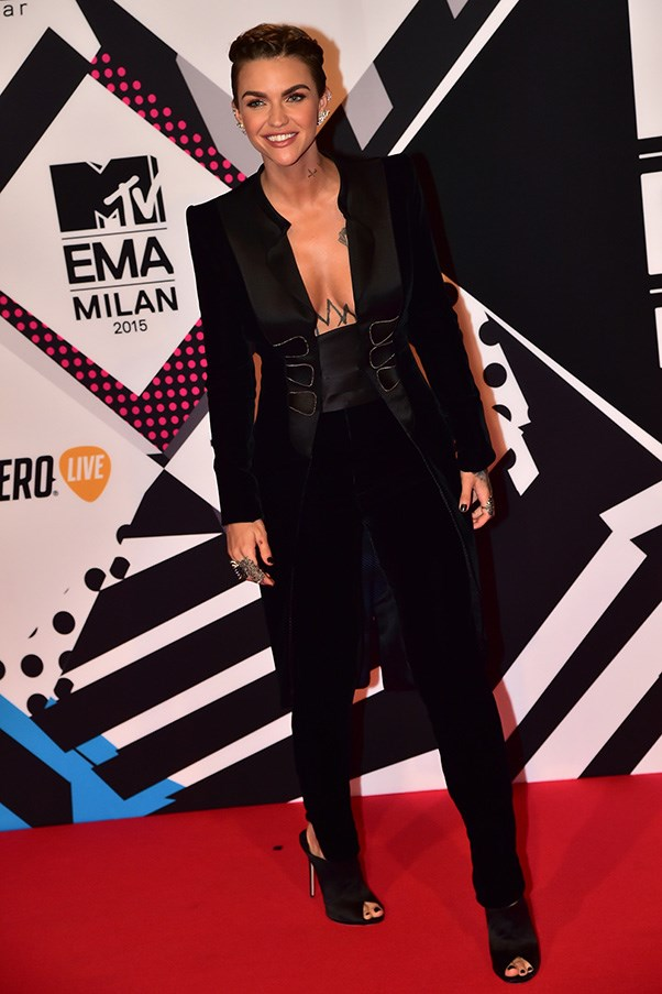 Red Carpet At The MTV EMAS