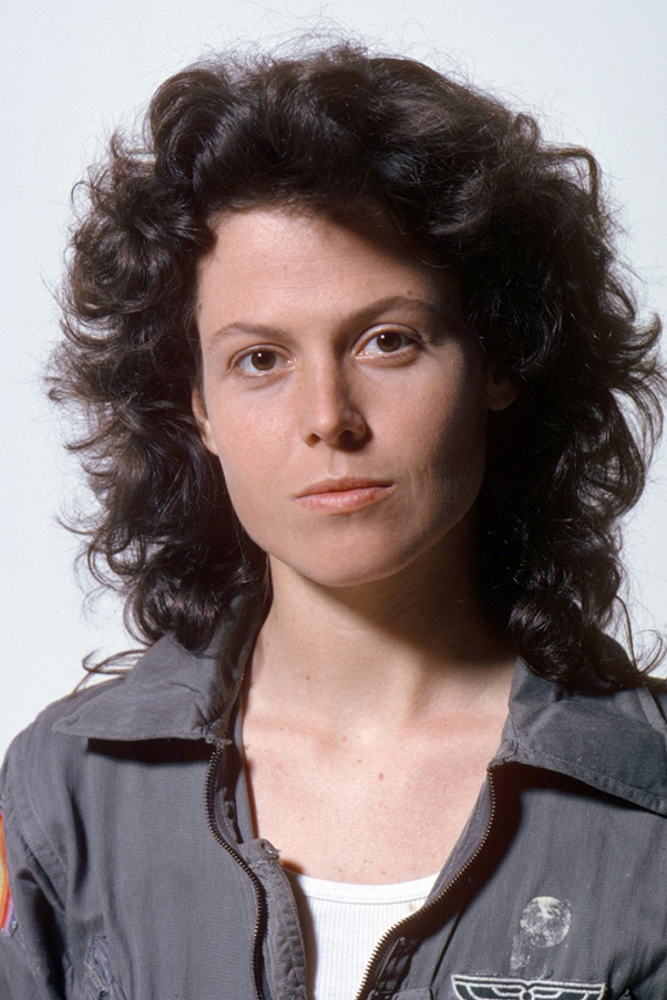 Sigourney Weaver as the alien fighting Ripley in the 1979 film Alien was basically the archetype of bad ass.