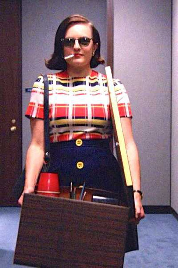 Peggy Olson clawed her way out of the typewriting pool in Mad Men, and set out to sassily make her mark in a male dominated world. She was a feminist without ever saying that she was, and she refused to accept a pre-ordained path for her life.
