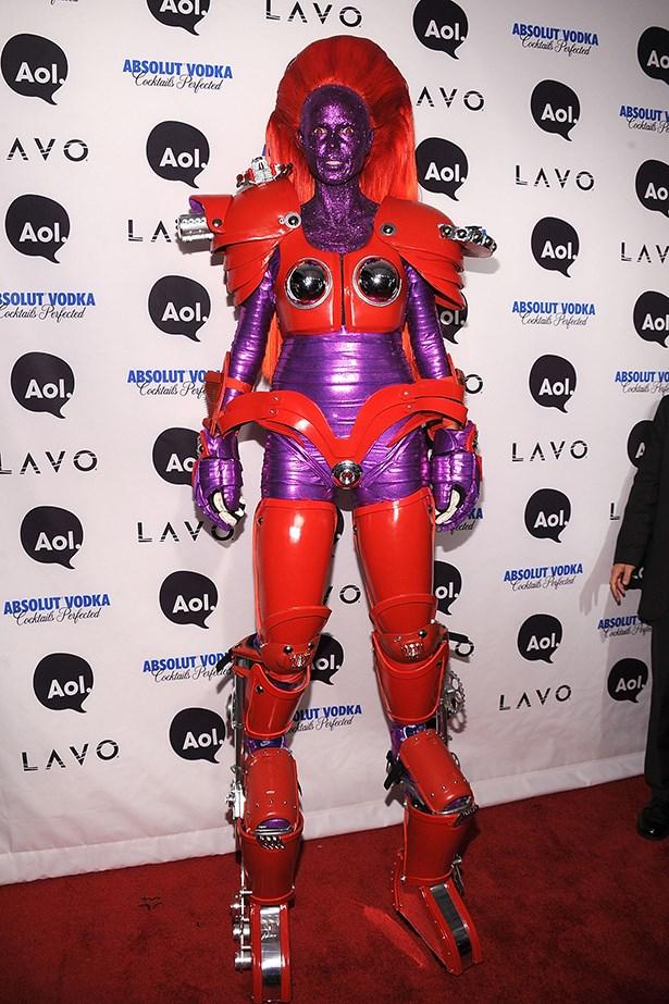 Heidi Klum as ... this.