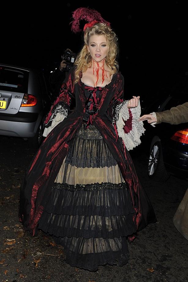 Natalie Dormer as a dead Victorian woman.