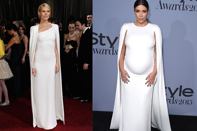 Just some further proof of the dress' popularity. Gwynnie's is a Tom Ford number back in 2012, but still, samesies, right?