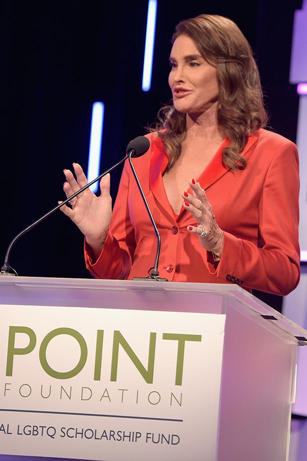 Caitlyn Jenner knows the power of a good shirtdress, crisp, classic and totally means business.