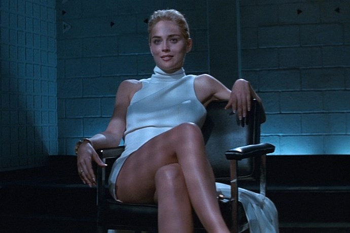 <em>Basic Instinct.</em> The fact that when you hear the words 'Basic Instinct', you think of this scene, means it was one hell of a dress.
