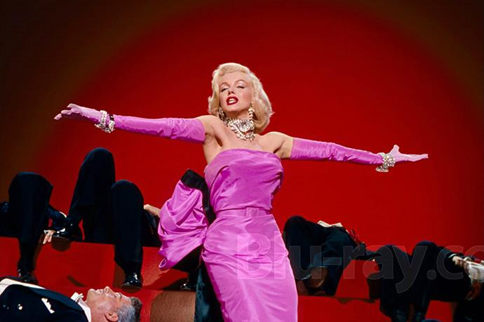 <em>Gentlemen Prefer Blondes.</em> After the release of this moment, the word 'glamour' became synonymous with a pink strapless dress, a blonde bob, and some serious sparkle.