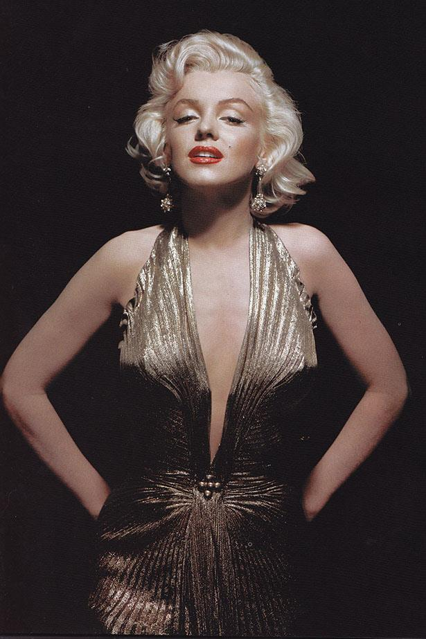 <em>Gentlemen Prefer Blondes.</em> Second to her epic 'air vent' moment, this image is tied forever to the memory of Marilyn Monroe.