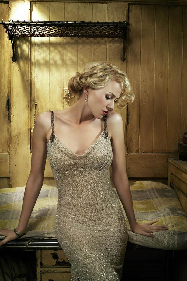 <em>King Kong.</em> The beading on this dress for Naomi Watts in King Kong is mesmerizing.