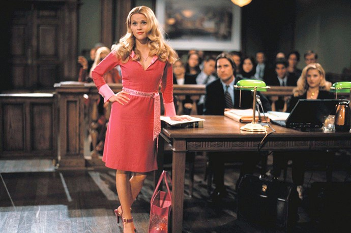 <em>Legally Blonde.</em> Whoever said orange was the new pink was seriously disturbed.