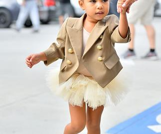 North West Tells The Paparazzi To Get Off Her Back