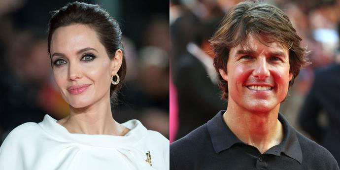 """<strong>ANGELINA JOLIE MAKES FOR A BETTER """"SPY GIRL"""" THAN TOM CRUISE</strong> <br> <br> The spy flick <em>Salt</em> was originally intended for Tom Cruise, who passed on the part. Thus, CIA agent Edwin Salt became Evelyn Salt and the entire script was restructured to make the character right for Angelina Jolie. Producer Lorenzo di Bonaventura <a href=""""http://articles.latimes.com/2010/jul/22/entertainment/la-et-salt-20100722"""">told the LA Times</a> of the decision: """"When you look at it from a dispassionate business point of view, it's a better way to do the genre. With Mission [Impossible] and Bourne and Bond, you're going to be the fourth spy guy. We thought, 'Let's be the first spy girl.'"""""""