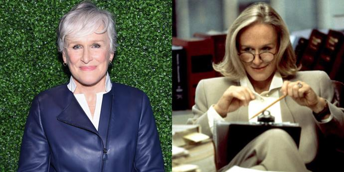 """<strong>GLENN CLOSE TAKES A MAN'S JOB IN 'THE PAPER'</strong> <br> <br> In the 1994 comedy <em>The Paper</em>, Glenn Close plays a managing editor named Alicia Clark who is the nemesis of Michael Keaton's metro editor. Her no-nonsense character was initially written for a man, but writer Stephen Koepp <a href=""""http://articles.mcall.com/1994-03-25/features/2956759_1_school-cafeteria-ron-howard-stephen-koepp/2"""">explained in an interview</a>, """"We did some polishing of the script after Glenn was hired, but essentially it's the same character. The character is an archetype—the bean-counter who keeps the pens and pencils in a vault."""" Close was so keen on maintaining the original vision of Clark, in fact, she insisted they keep the fistfight between her and Keaton."""