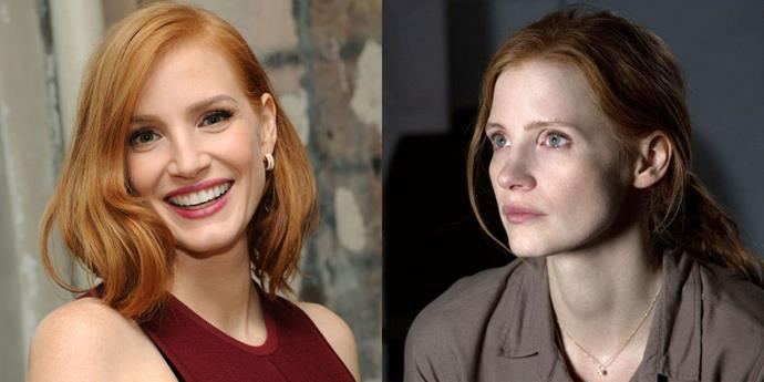 """<strong>JESSICA CHASTAIN PLAYS A CHARACTER NAMED """"MURPH"""" IN 'INTERSTELLAR'</strong> <br> <br> In the original script for last year's Interstellar, Christopher Nolan wrote the character of Matthew McConaughey's child, Murph, as a boy. But as the story developed, he changed his mind. """"Maybe because my eldest child is a girl, I decided to change Murph into a girl,"""" the director <a href=""""http://www.dazeddigital.com/artsandculture/article/22407/1/jessica-chastain-interstellar-interview-gender"""">told Dazed</a>. """"I found that came very naturally to me, writing that relationship between a father and a daughter."""" Enter Jessica Chastain, who took on the part of the idealistic NASA employee."""