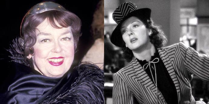 """<strong>ROSALIND RUSSELL MAKES HEADLINES IN 'HIS GIRL FRIDAY'</strong> <br> <br> Classic '40s film <em>His Girl Friday</em> is based on a play called <em>The Front Page</em>, which follows a male newspaper editor and his male reporter. But as the Broadway hit was being adapted for screen, director Howard Hawks didn't have two men available to read through the script and <a href=""""http://www.tcm.com/this-month/article/88198%7C0/His-Girl-Friday.html"""">asked his secretary to read lines</a>. It turned out that the dynamic between the leads was better that way, and Hildebrand Johnson was revised to become Hildegaard Johnson, a role memorably played by Rosalind Russell."""