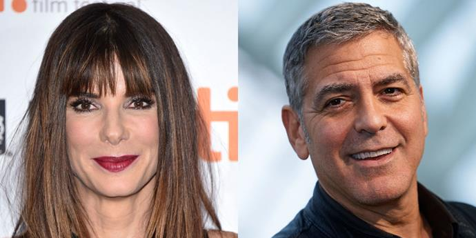 """<strong>SANDRA BULLOCK GIVES GEORGE AN IDENTITY 'CRISIS'</strong> <br> <br> In <em>Our Brand Is Crisis</em>, out Friday, Sandra Bullock plays a role originally meant for the project's producer, George Clooney. """"I put my blinders on and blazed forward. Sometimes you get a no. But I expect the no,"""" the actress told <em><a href=""""http://www.glamour.com/entertainment/blogs/obsessed/2015/10/sandra-bullock-november-cover"""">Glamour</a></em>. """"With this I got very nervous. I didn't know if George had made this for himself. But the response was, 'We're cool with it.'"""" Bullock says not much was changed in the script to accommodate her playing political crisis manager Jane Bodine. """"You just change the sex; that was pretty much it,"""" she said. """"She's human."""""""