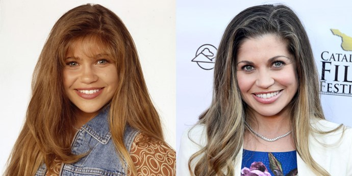 <strong>DANIELLE FISHEL AS TOPANGA LAWRENCE</strong> <br> <br> Cory's longtime love Topanga is also very much alive in 2015 with Fishel reprising her role on <em>Girl Meets World</em> as mum to her and Cory's daughter, Riley. She didn't do much work outside of short-lived, now forgotten TV shows and independent films. Side note: her hair is still fabulous.