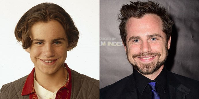 <strong>RIDER STRONG AS SHAWN HUNTER</strong> <br> <br> As Cory's best friend Shawn Hunter, Rider Strong has also returned with guest appearances on <em>Girl Meets World</em>. Post-<em>Boy Meets World</em>, the actor graduated from Columbia University, got an MFA in fiction and literature, then wrote short stories and poems (that got published in literary journals! So he's legit). He writes and directs films alongside his brother Shiloh in a production company called Strong Brothers Magic Show.