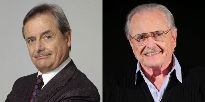 <strong>WILLIAM DANIELS AS GEORGE FEENY</strong> <br> <br> Let's start with the fact that William Daniels is now 88 years old. 88! The lovable, wise Mr. Feeny has also made several appearances in <em>Girl Meets World</em>. After <em>Boy Meets World</em>, the actor also dabbled in voice acting and had a recurring role in <em>Grey's Anatomy</em> back in 2012.